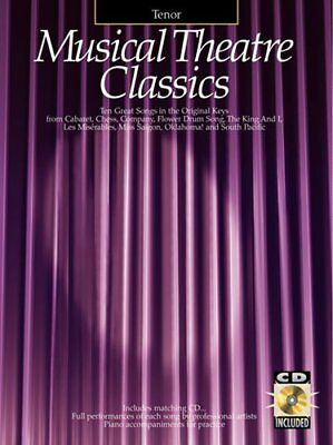 MUSICAL THEATRE CLASSICS TENOR BOOK/CD by Various Book The Cheap Fast Free Post
