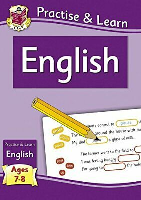 New Curriculum Practise & Learn: English for Ages 7-8 (CGP KS2 P... by CGP Books