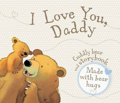 I Love You Daddy Book and Soft Toy Gift Pack by Parragon Book The Cheap Fast