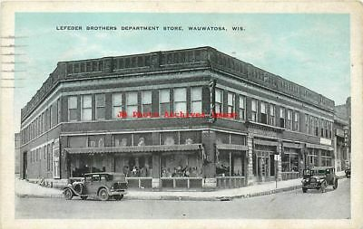 WI, Wauwatosa, Wisconsin, Lefeber Brothers Dept Store, Kropp Pub No M-915