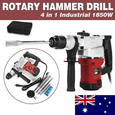 1850W Demolition Jack Hammer Rotary Commerical Electric Jackhammer Drill Tool AU