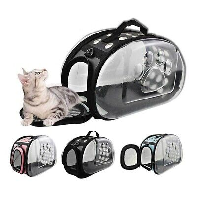 S/M Pet Dog Cat Carrier Pup Rabbit Soft Bag Foldable Travel Portable Cage Kennel