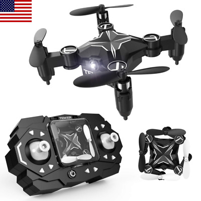 Mini RC Drone for Kids Beginners Quadcopter Altitude Hold Mode 3D Flips Headless