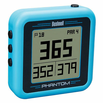 2018 Bushnell PHANTOM GPS Preloaded with 36,000+ Courses -  NO FEES - Blue