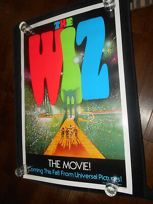 The Wiz  Musical Original Rolled  Advanced Teaser One Sheet Poster