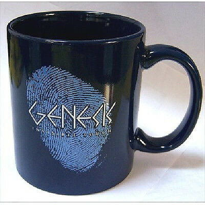 Genesis Invisible Touch Blue Coffee Cup Mug New Official Rare