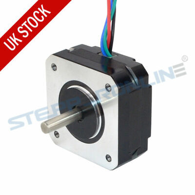 Short Body Nema 17 Stepper Motor 13Ncm 1A 42x42x20mm 4 Wires 3D Printer Extruder