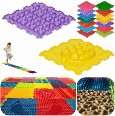 Mats for Baby First steps Feet Puzzle 6 Pcs Orthopedic massage floor (carpet)