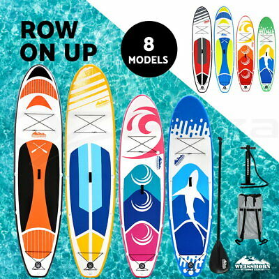 WEISSHORN 11' 10' Stand Up Paddle Board Inflatable SUP Paddleboard Surfboards