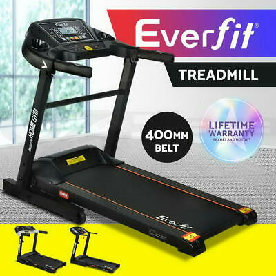 Everfit Electric Treadmill 400mm Running Home Gym Exercise Machine Fitness