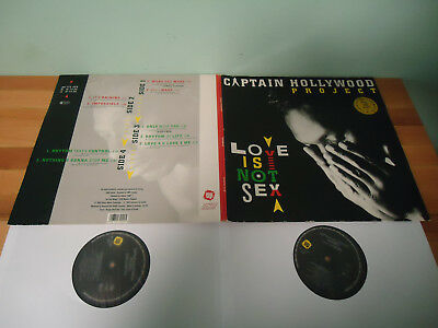 2 Vinyl Captain Hollywood Project - Love is not sex 1993
