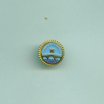 Vintage Pin Trakya University Edirne Turkey