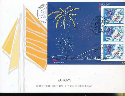 180181 / Portugal / Madeira FDC Block Europa Cept 1998