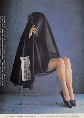 DOMANI - Magazine advert from 1986 for : DOMANI SHOES - vgc -