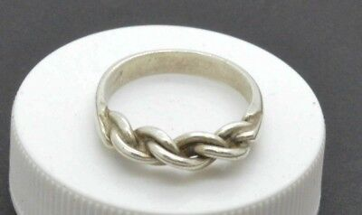 Post medieval Silver ring. 18 Century