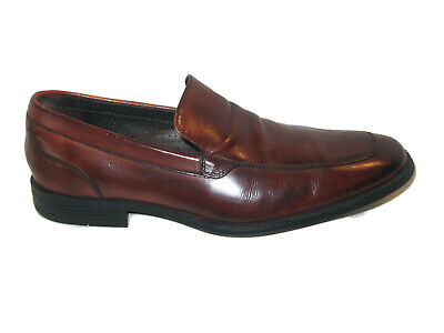 f7012478e0b BRAGANO COLE HAAN Italy Mens Sz 13 M Horse Bit Loafers Leather Dress ...