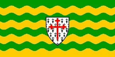 3x5 Donegal County Ireland Flag Irish Banner Pennant Indoor Outdoor 3 by 5 Foot