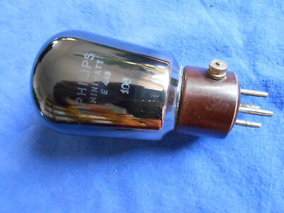 E 443  PHILIPS MINIWATT  // RES 964    //  4 pin  -- made 1929
