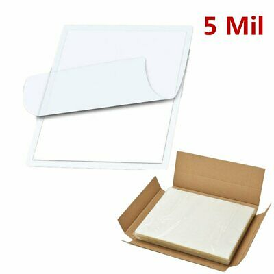 100 Pack 5Mil Clear Letter Size Thermal Laminator Laminating Pouches 9 X 11.5