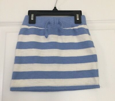 Crew Cuts Stripe Rubber Waist Girl's Cotton Skirts SZ 2 Euc