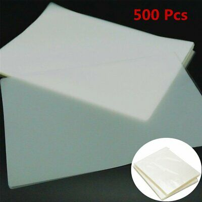 5 Mil Clear Letter Size Thermal Laminating Pouches 9 X 11.5 Qty 500 Sheets