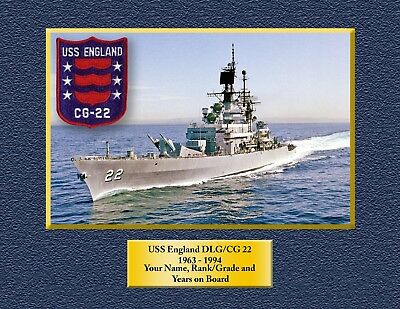 USS ENGLAND CG 22 DLG 22 Decal U S NAVY USN Military S01