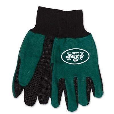 McArthur 9960690673 New York Jets Two Tone Adult Size Glove