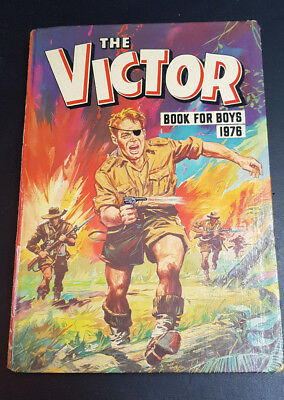 The Victor Book for Boys 1976 Hardback