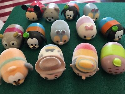 13 Disney Characters TSUM TSUM by ZURU Job lot of Plush/Vinyl