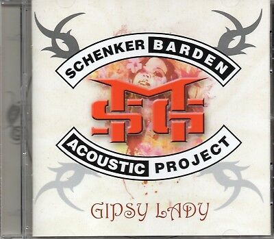 Michael Schenker (UFO) / Gary Barden Acoustic Project - Gipsy Lady (2009 CD) New