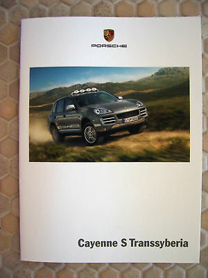 Porsche Official Cayenne S Transsyberia Sales Brochure 2009 Usa Edition