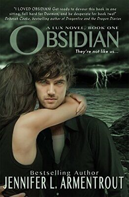 Obsidian (A Lux Novel) by Jennifer L. Armentrout Book The Cheap Fast Free Post