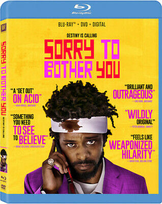 Sorry To Bother You [New Blu-ray] With DVD, Digital Download