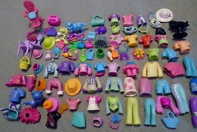 Polly Pocket ~ Huge Lot ~ Pets, Clothes and Accessories +++