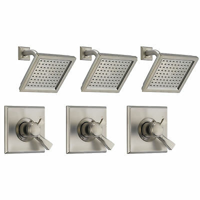 Delta Dryden Monitor 17 SpotShield Shower Trim Kit, Stainless Steel (3 Pack)