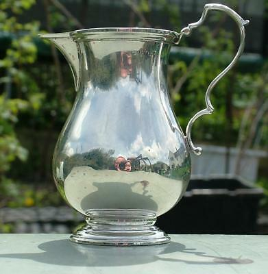 VERY STYLISH SOLID STERLING SILVER 109g CREAM MILK JUG HALLMARKED 1973