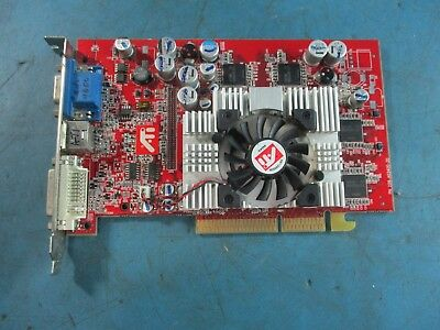 ATI All In Wonder AIW 9600XT 128MB DDR AGP Video Card With TV Tuner