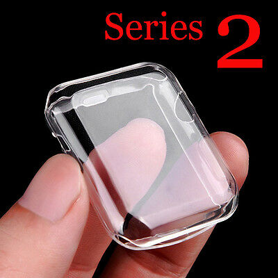 For iWatch 42/38 MM Apple Watch Case Full Cover Screen Protector Series 1/2/3