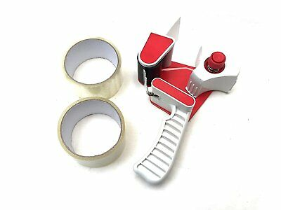 2-Inch Industrial Hand Held Packing Tape Dispenser Gun, Bonus: 2x 25 yards...