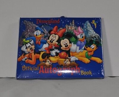 Disney Disneyland Autograph Book (wrapped) for Characters Authentic