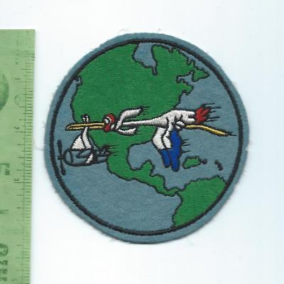 US Navy USN VR F 31 Stork Liners Ferry Squadron patch embroidered on felt