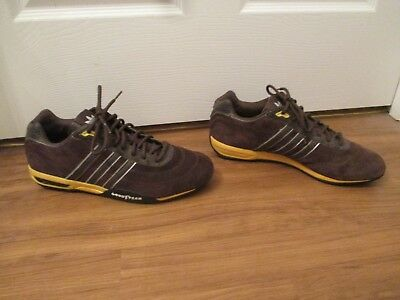 8bededda9959a adidas chaussures dja racer faible goodyear hommes courses conduire chaussures  chaussures adidas 4913bd