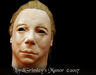Officially Licensed Michael Myers Halloween 2 Kirk Mask Horror Killer Star Trek