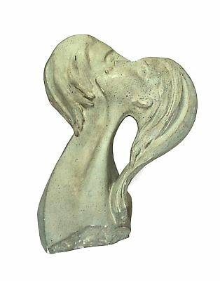 Austin Productions Faces of Lovers 1980 Large Plaster Sculpture