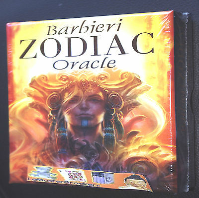 Oracle Signes du Zodiaque Barbieri Book & 26 Cards Jeu oracle voyance en stock