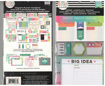 MAMBI Create365 The Happy Planner - ACCESSORIES KIT PRODUCTIVITY 388 pc