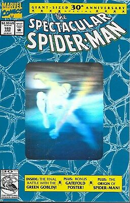 The Spectacular Spider-Man No.189 / 1992 Special 30th Anniversary Hologram Cover