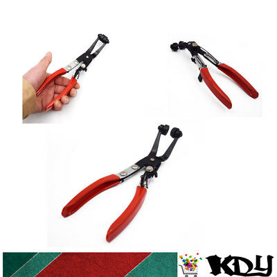 Perfect Angled 45°Pipe Hose Clamp Pliers Tool Coolant Hose Swivel Jaw Locking