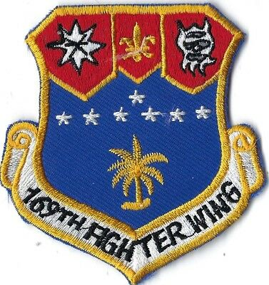 USAF 169th FIGHTER WING PATCH