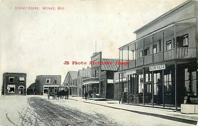 WI, Withee, Wisconsin, Street Scene, Business Section